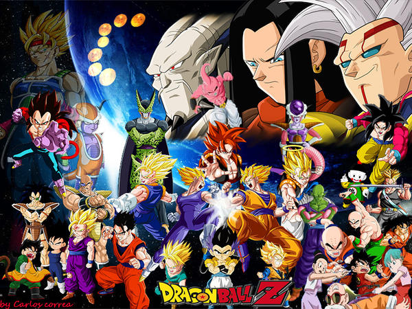 Dragon Ball Z Collage By Nickobelico On DeviantArt
