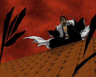 Bleach - Kenpachi Appears by DemiuM666