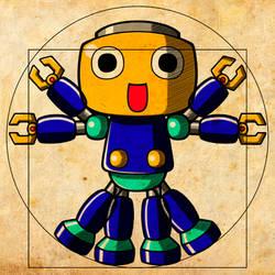 Vitruvian Servbot