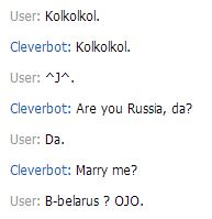 Me and Cleverbot by Ask-MMD-ChildRussia