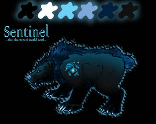 -Ref Sheet: Sentinel- by SilverSheCat