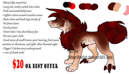 -ADOPT: OPEN - by SilverSheCat