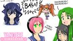 Yandere Simulator Fan Art: Various Characters