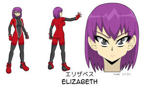Commission - Elizabeth Character Sheet Remake