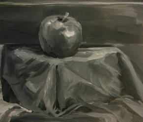 .:Grisaille Apple:. Detail