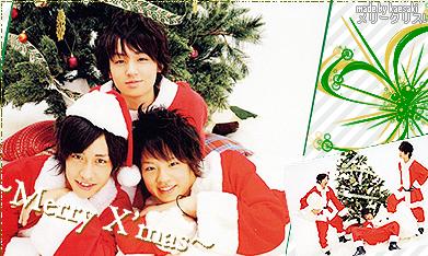 X'mas-Inoo,Hikaru,Keito by kaedeki
