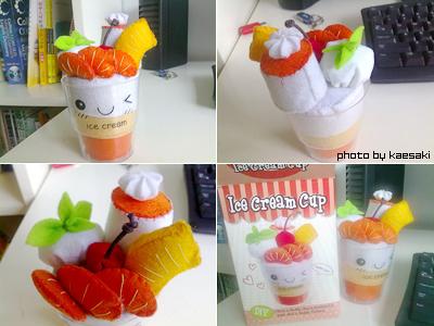 +Ice Cream Cup+ orange ver. by kaedeki
