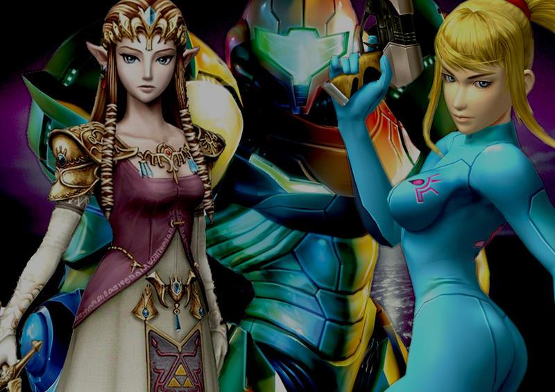 Samus Zelda by SamusEmblem