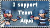 Team Aqua Support Stamp by TeamAquaSuicune