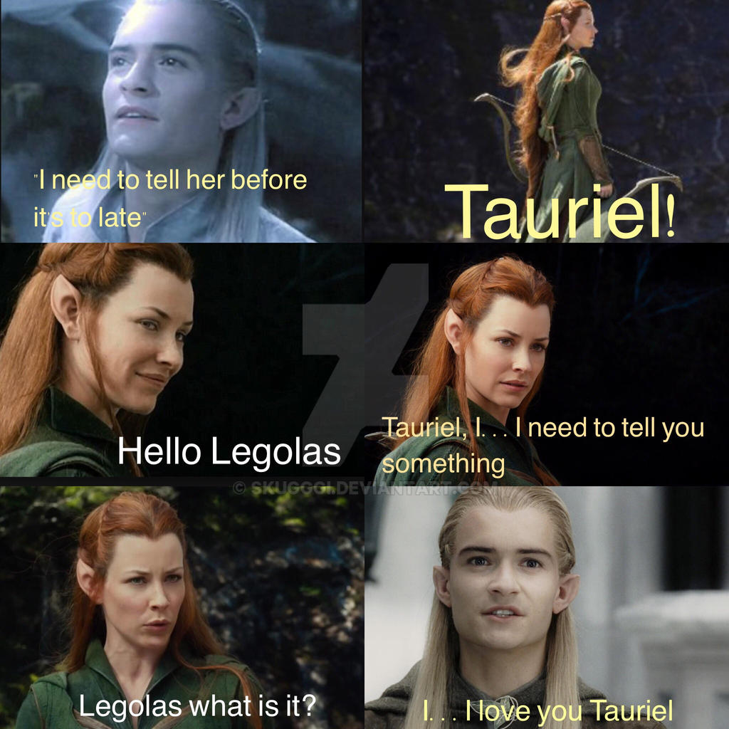 The gallery for --> Tauriel And Legolas Kiss