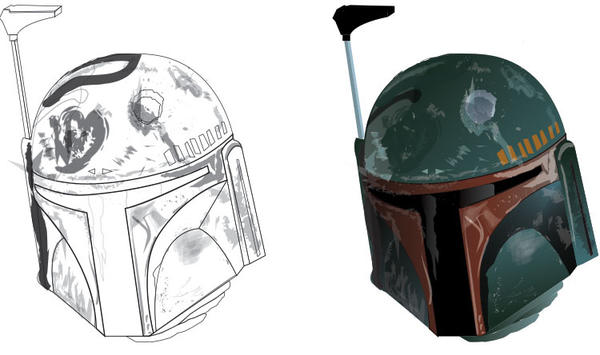 Bobafett-helmet by Excalibur14 on DeviantArt