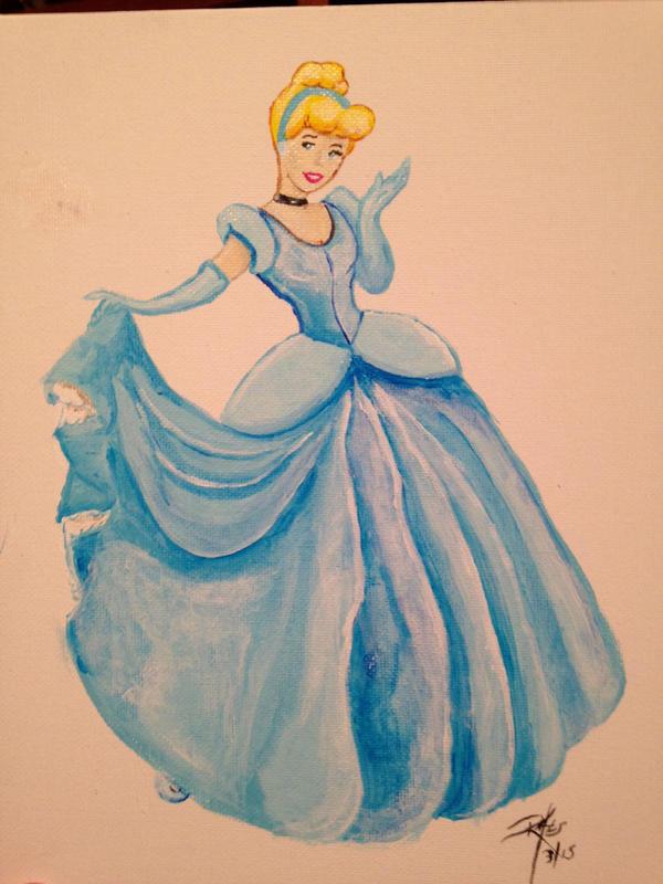 Cinderella Birthday present by Excalibur14
