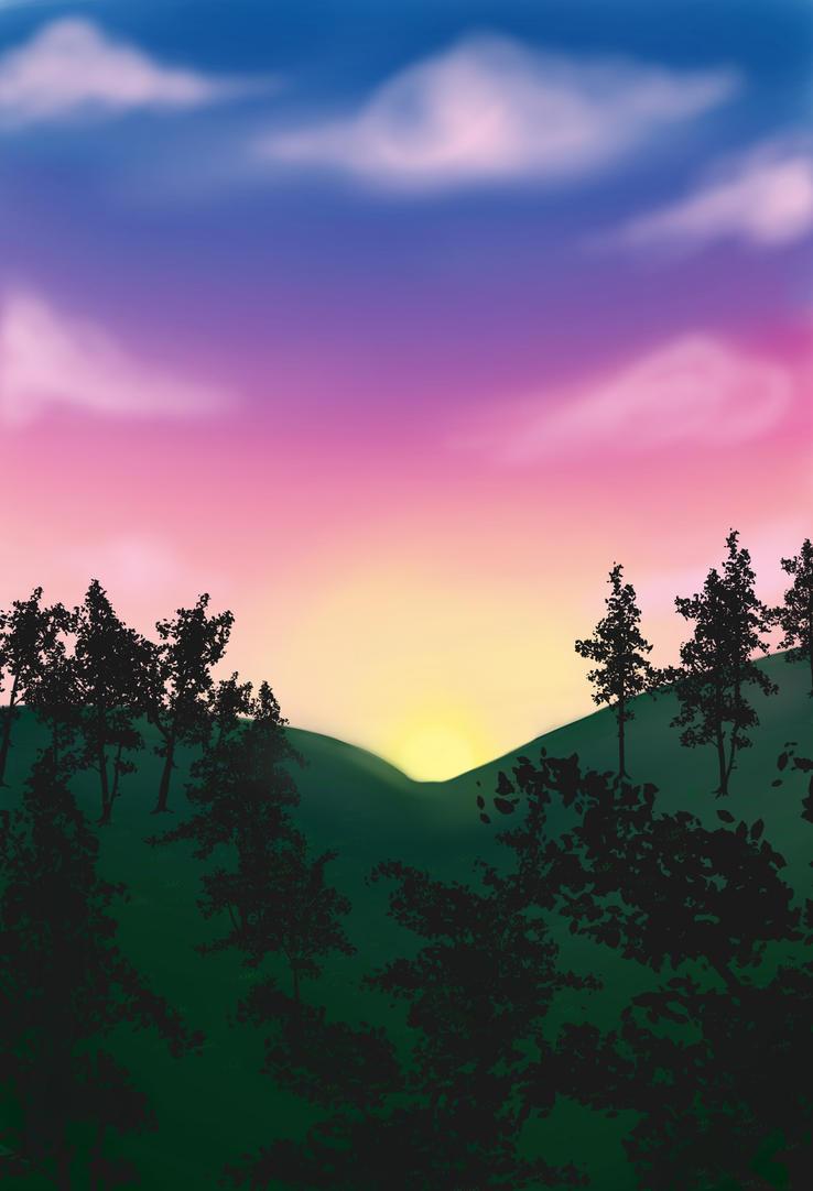 Sunset by Oakkune