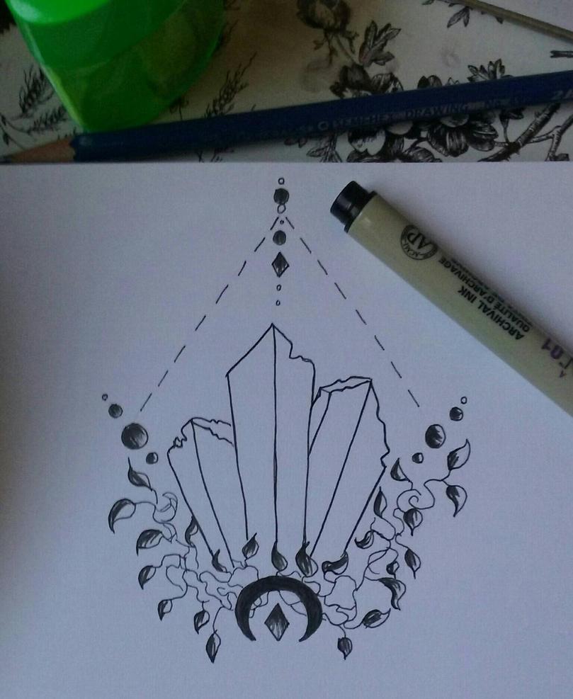 Crystals  by Oakkune