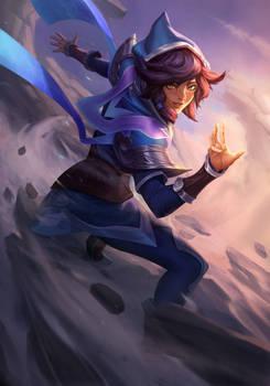 Taliyah-League of Legends fanart