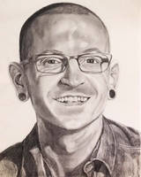 Chester Bennington by ArtByHana