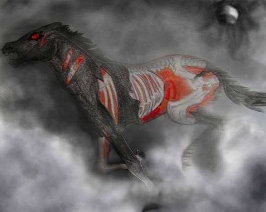 Zombie horse by ApocalypticMongoloid on DeviantArt