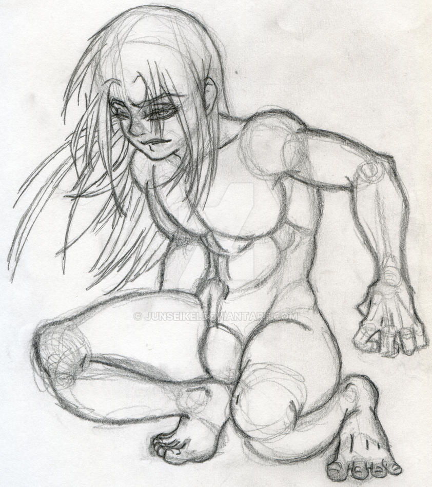 Sketch: Male anatomy pratice by Junseikei on DeviantArt