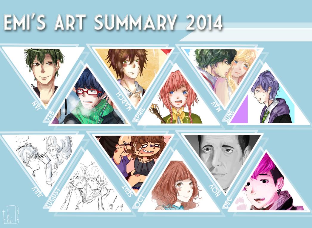 Art Summary 2014 by emi2yam2