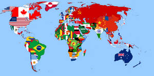 Flags map 1989