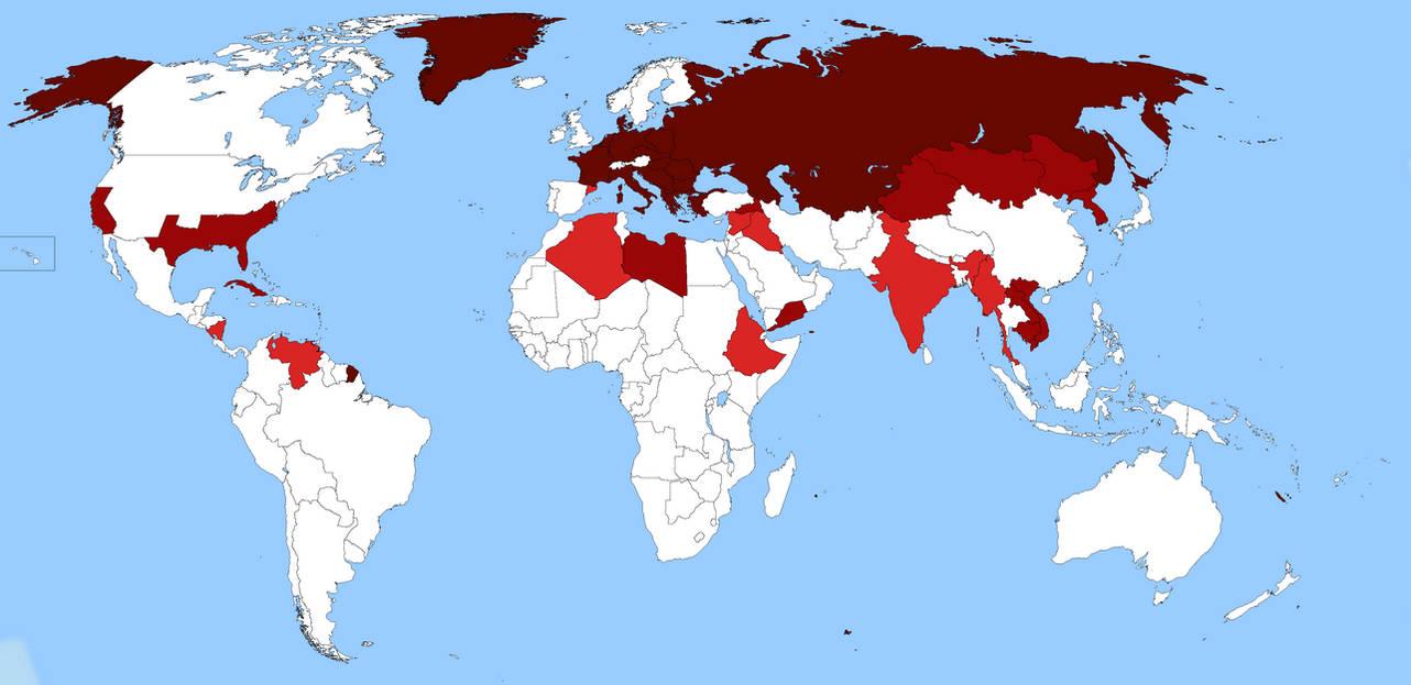 World War III (1970-1980). Soviet victory by D-Okhapkin on ...