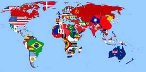 Flags map Kaiserreich 1937
