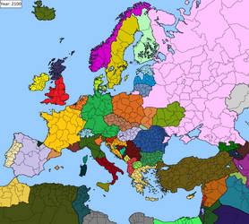 End of the 21st century in Europe by D-Okhapkin