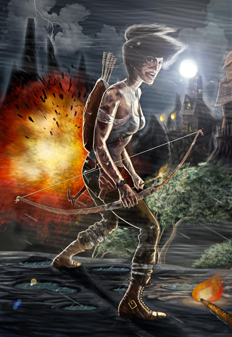 Tomb Raider Contest by guece