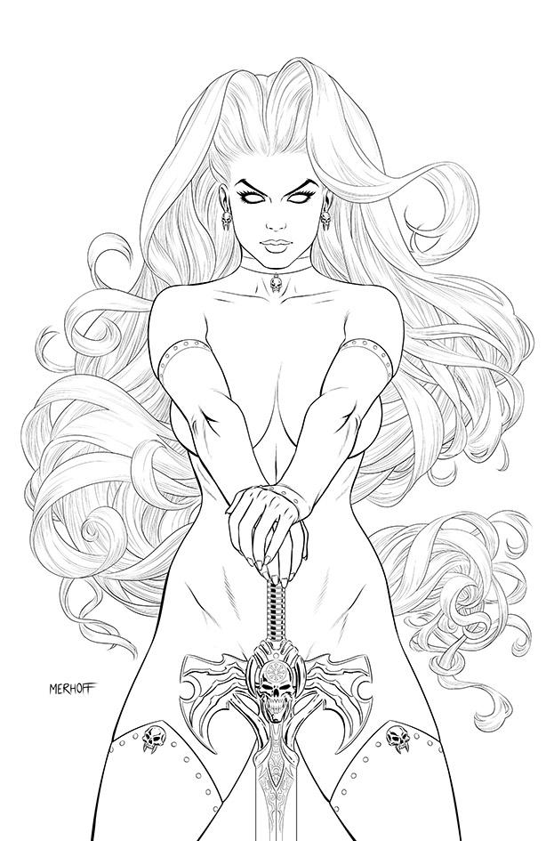Lady Death: Dark Millennium #1 - Swordplay Edition