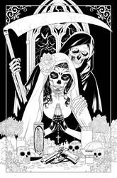 La Muerta: Pin Ups #1 - Premium Foil Edition Cover