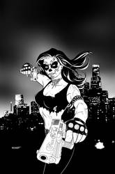 La Muerta Lives! Vol. 1 Trade Paperback Cover