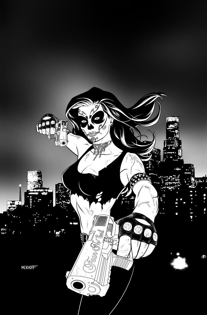 La Muerta Lives! Vol. 1 Trade Paperback Cover