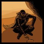 Dune: Fremen scout by devilevn