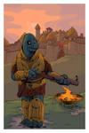 Guard of Tulim-Kazoot by devilevn