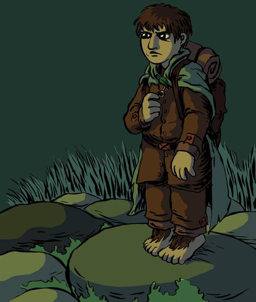 LOTR: Frodo by devilevn