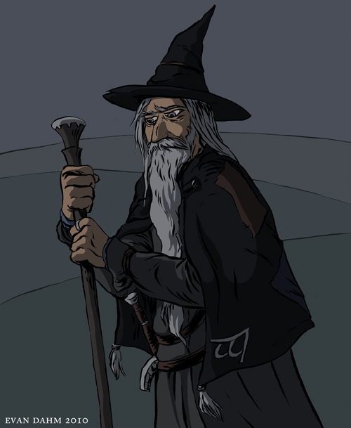 LOTR: Gandalf by devilevn
