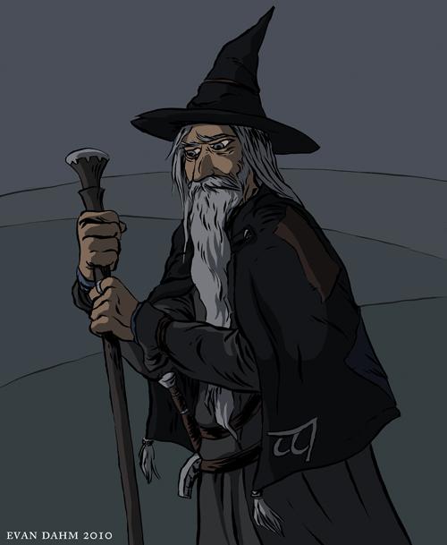 LOTR: Gandalf by devilevn