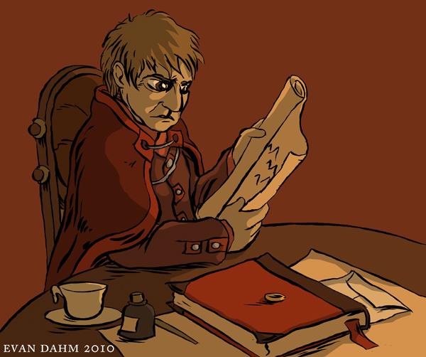 LOTR: Bilbo by devilevn