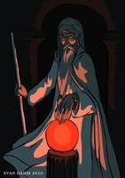 LOTR: Saruman by devilevn