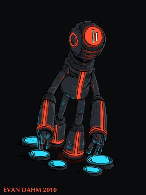 Red Robot by devilevn
