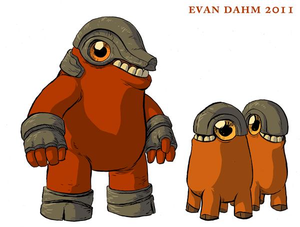 Weird Monsters by devilevn
