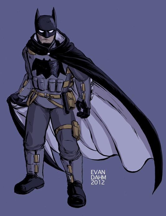 batman redesign by devilevn