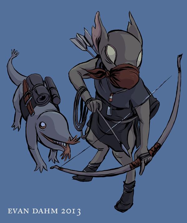 hunty goblin by devilevn