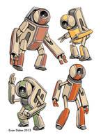 Robot set 2 by devilevn