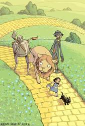 Wizard of Oz by devilevn