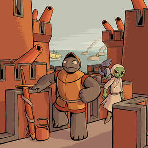 Island Book Epilogue: Fortress Island