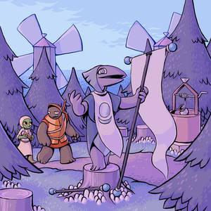 Island Book Epilogue: Wind Island