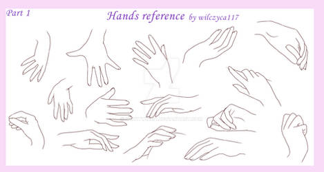 Hands reference 1 by saWitwicka