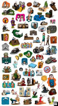 Ilustrasi 250 Kejadian Aneh