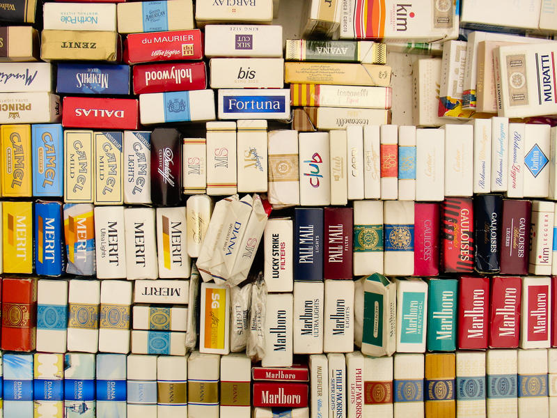 Cigarette Packs By Nickrizo